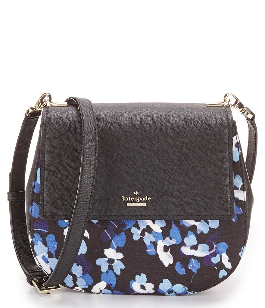 kate spade new york Cameron Street Collection Floral Byrdie Cross-Body Bag