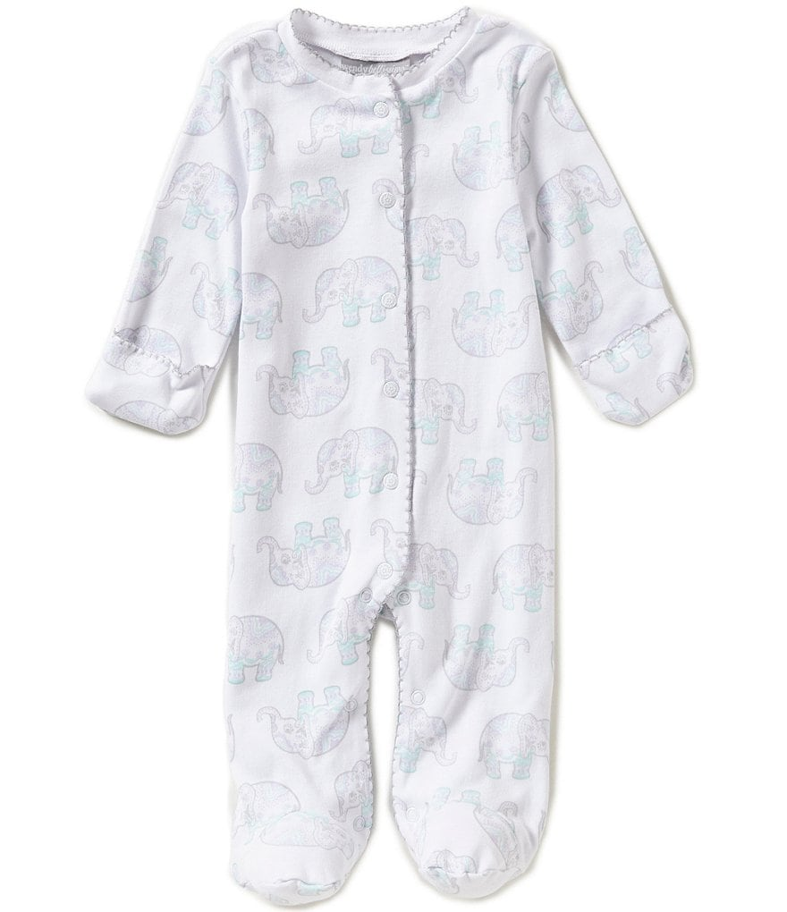 Wendy Bellissimo Baby Girls 3-9 Months Printed Footed Coverall