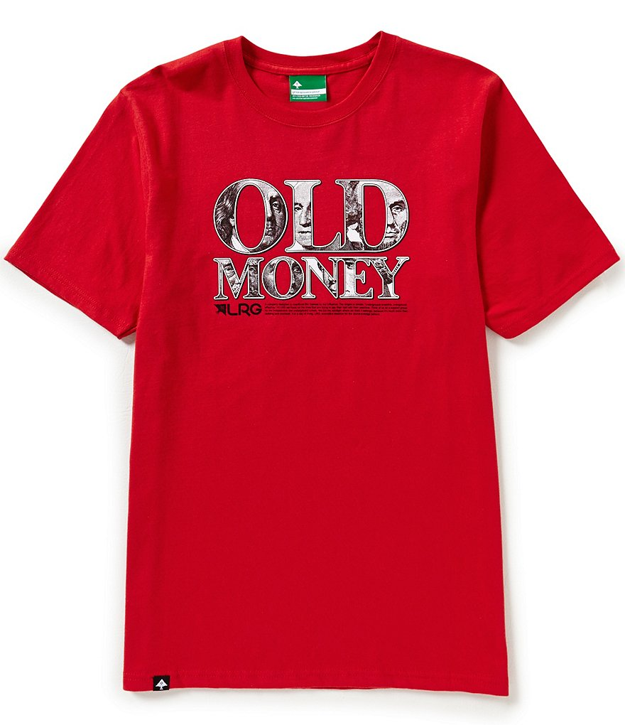 LRG Old Money Short-Sleeve Graphic Tee