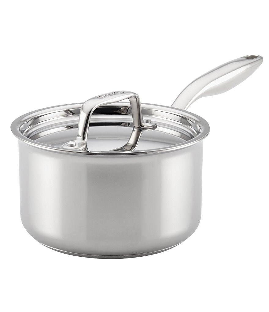 Breville Thermal Pro Clad Stainless Steel 2-Quart Covered Saucepan