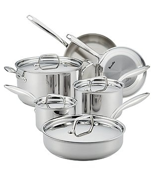 Breville® Thermal Pro™ Clad 10-Piece Stainless Steel Cookware Set