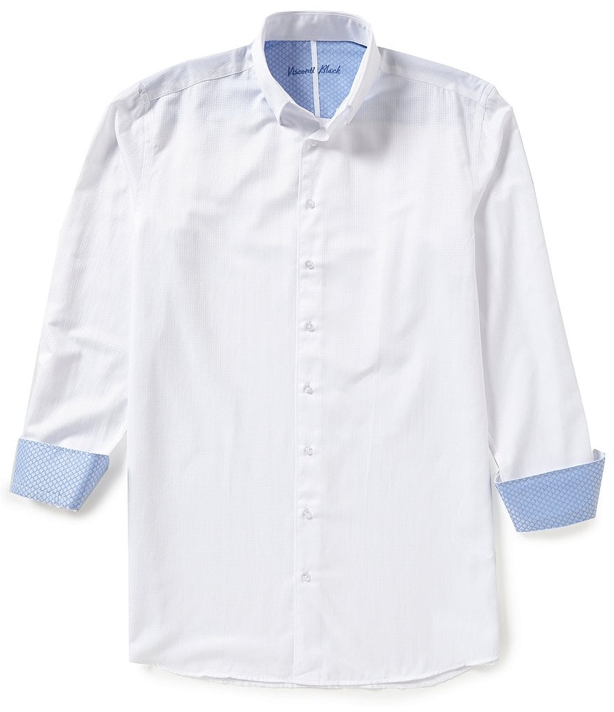 Visconti Big & Tall Textured Shirt