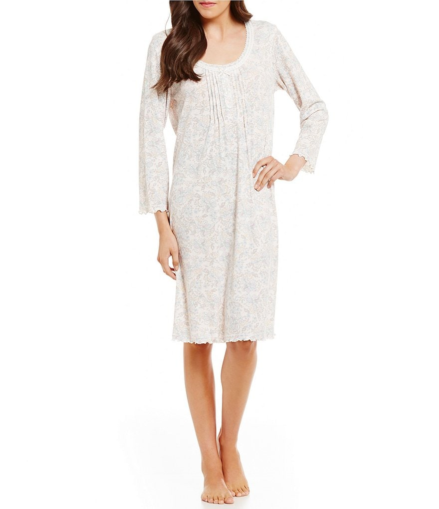 Miss Elaine Cottonessa Paisley Nightgown