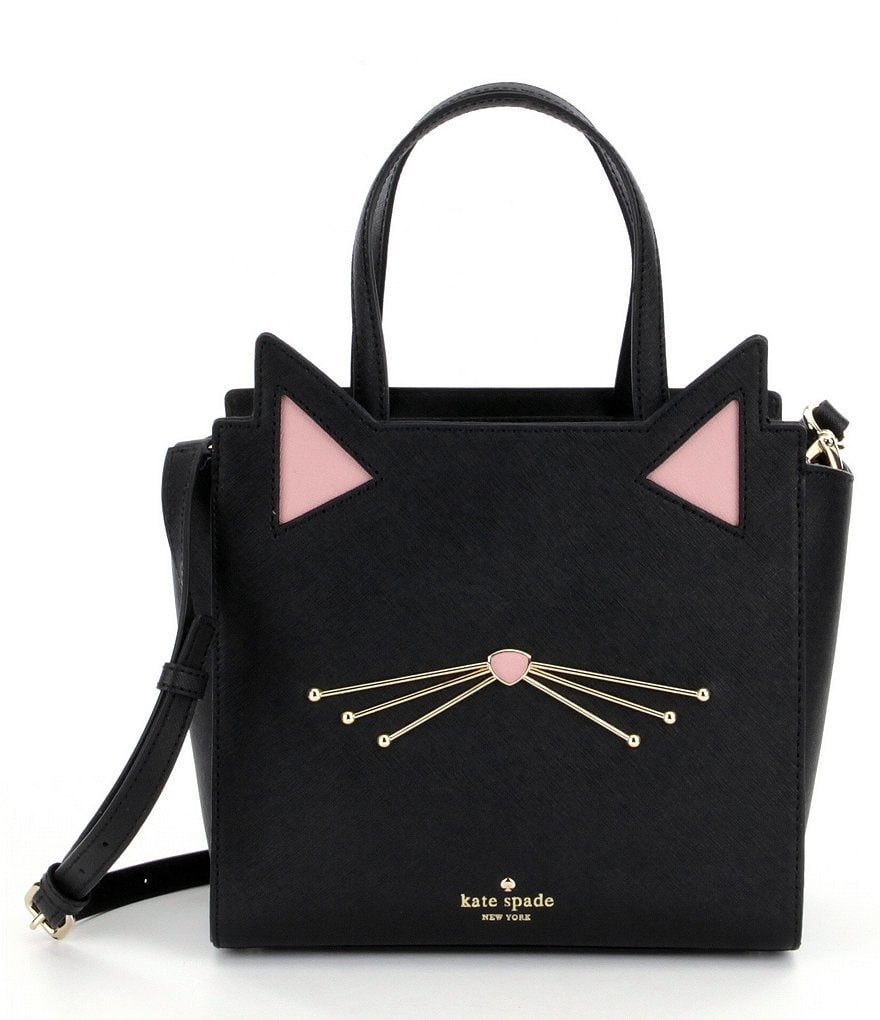 kate spade new york Jazz Things Up Collection Small Hayden Cat Satchel