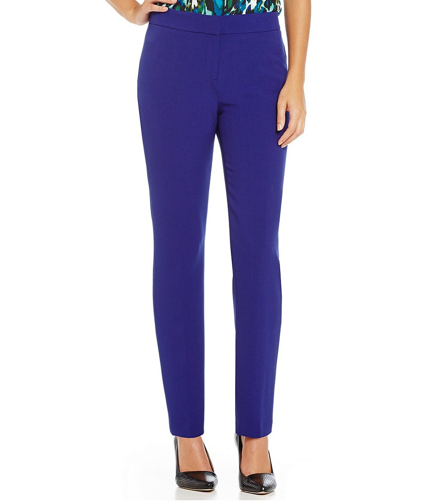 Kasper Stretch Crepe Kristy Slim Pant