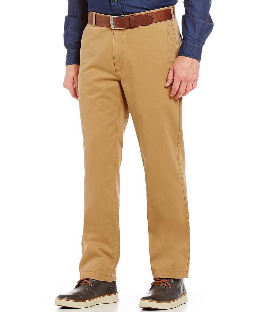 Cremieux Highland Peaks Collection Cassis Flannel Straight-Fit Pants