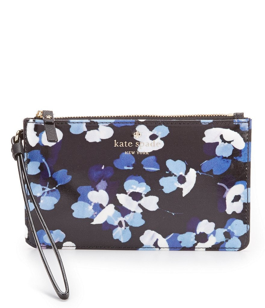 kate spade new york Cedar Street Collection Floral Slim Bee Wristlet