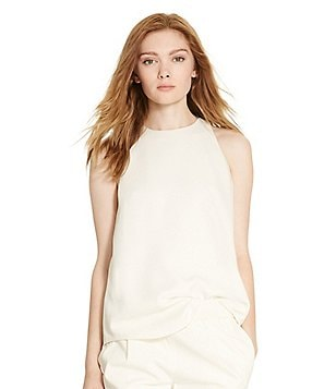 Polo Ralph Lauren Cady Drape Sleeveless Top