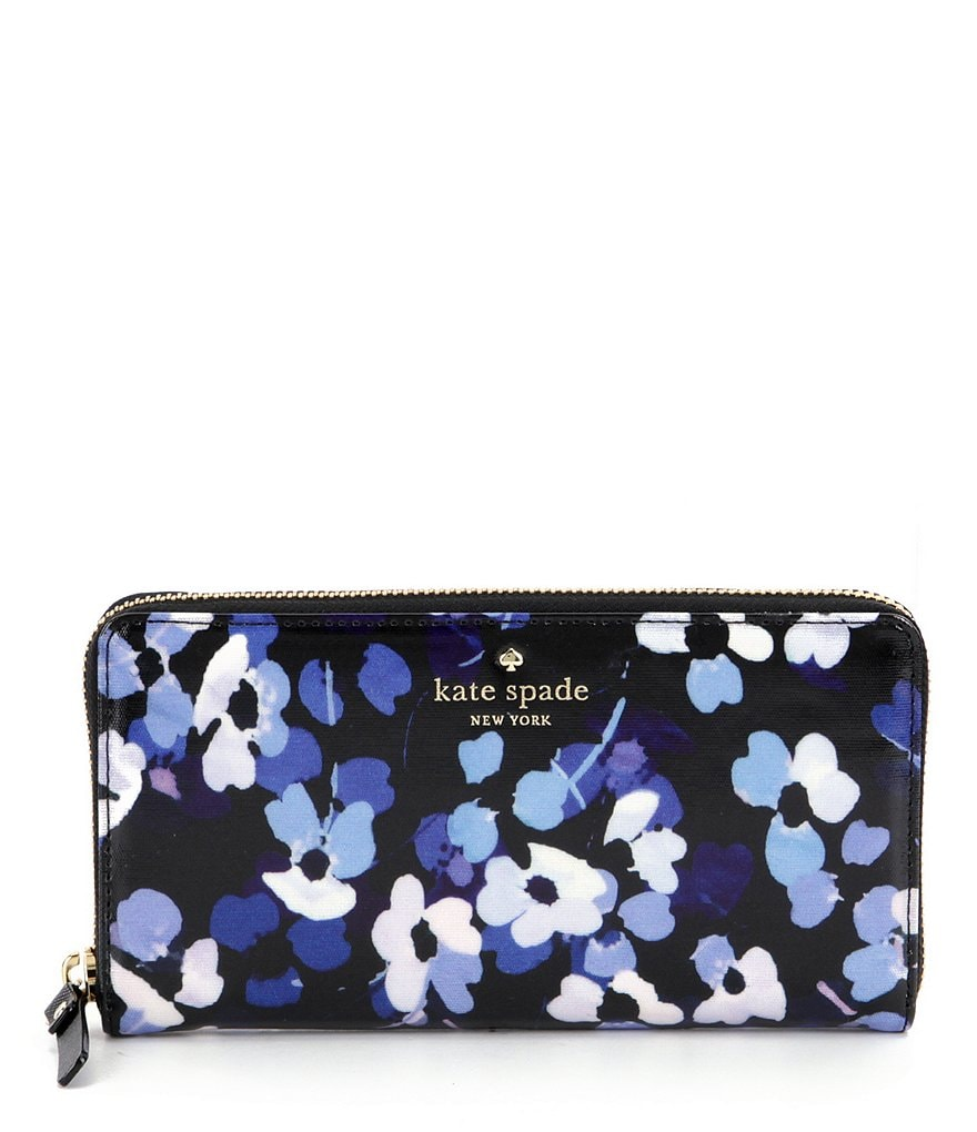 kate spade new york Cedar Street Collection Floral Lacey Zip-Around Wallet