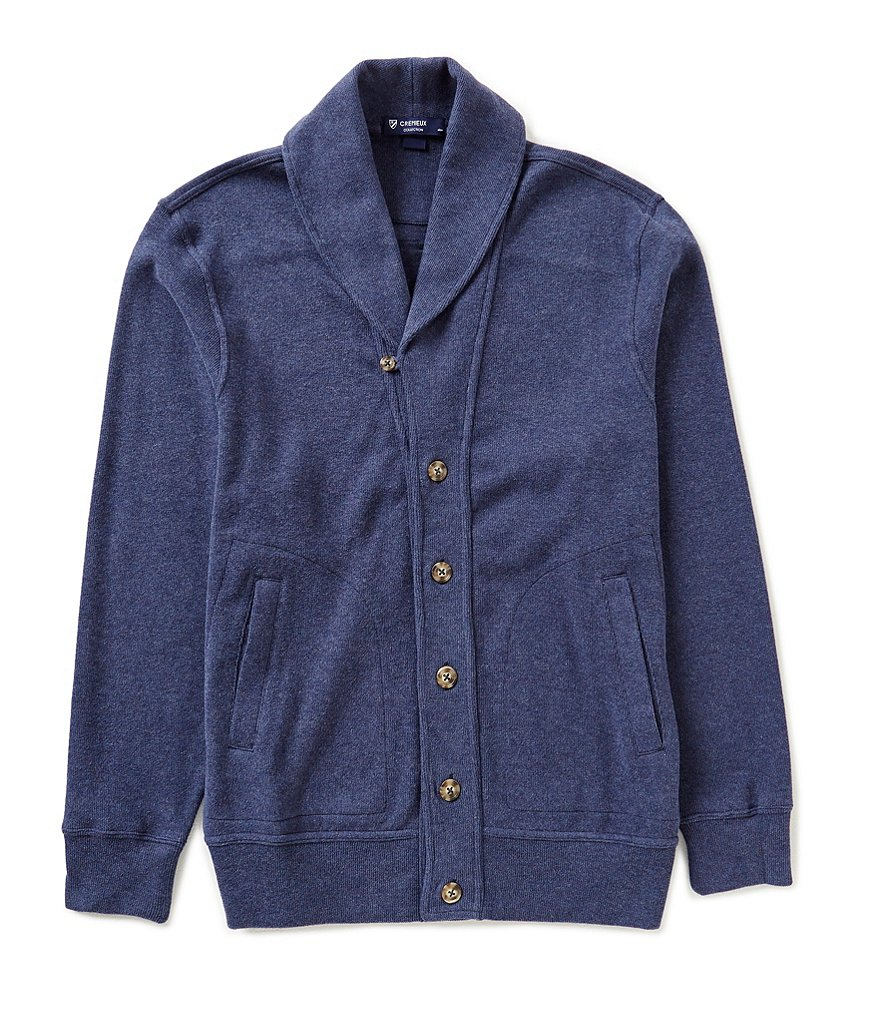 Cremieux Highland Peaks Collection Solid Shawl Cardigan