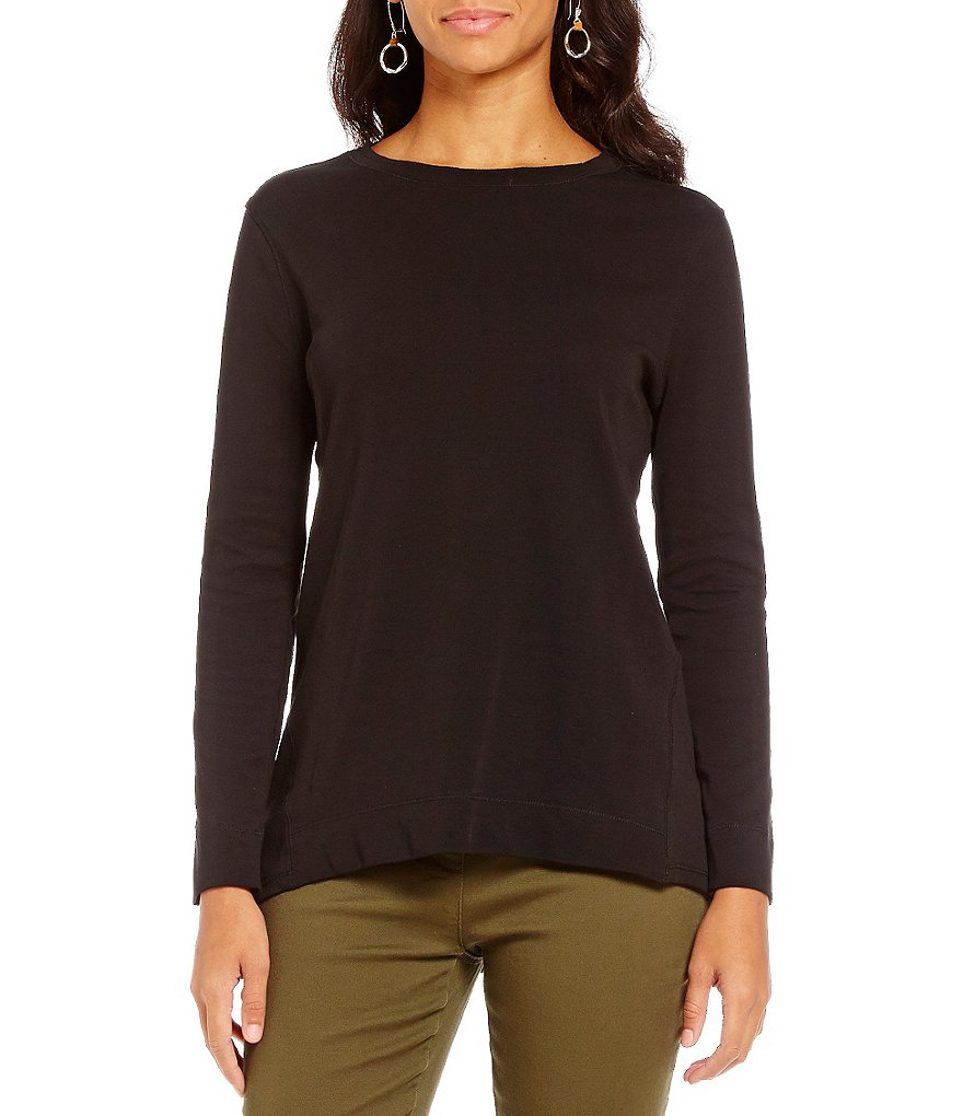 Westbound Round Neck Long Sleeve Tunic