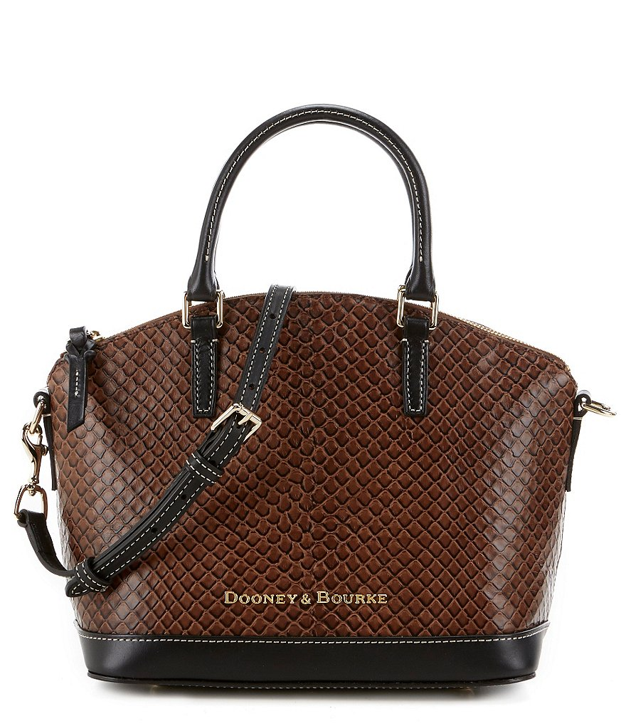 Dooney & Bourke Cordova Collection Toni Leather Satchel