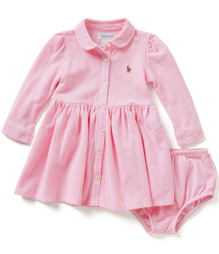 Ralph Lauren Childrenswear Baby Girls 3-24 Months Shirtdress