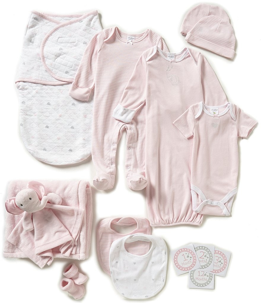 Starting Out Baby Girls 12-Piece Layette Gift Set