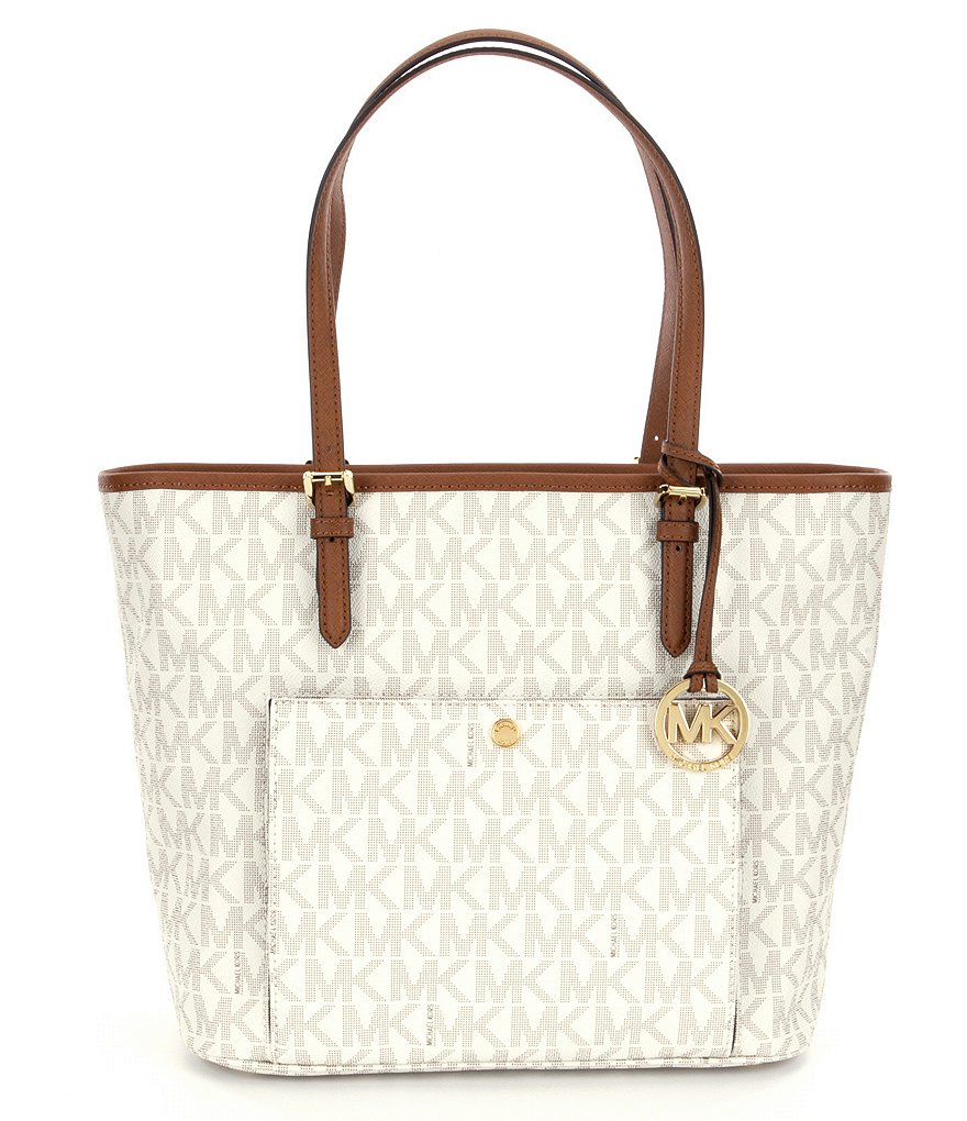 MICHAEL Michael Kors Jet Set Large Snap Pocket Tote