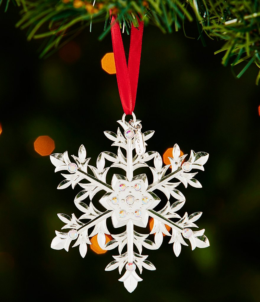 Lenox 2016 12th-Edition Snow Majesty Snowflake Ornament