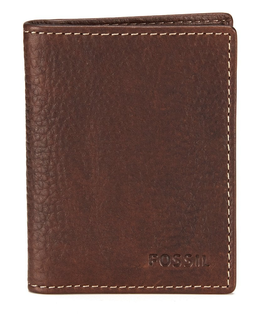 Fossil Lincoln Leather Card Case
