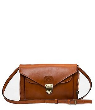Patricia Nash Heritage Collection Cassano Double-Flap Convertible Cross-Body Bag