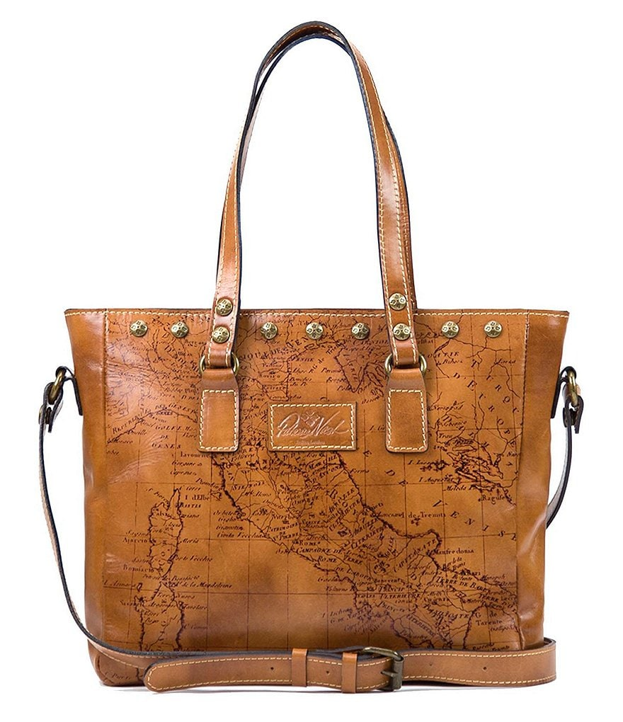 Patricia Nash Signature Map Collection Gava Tote
