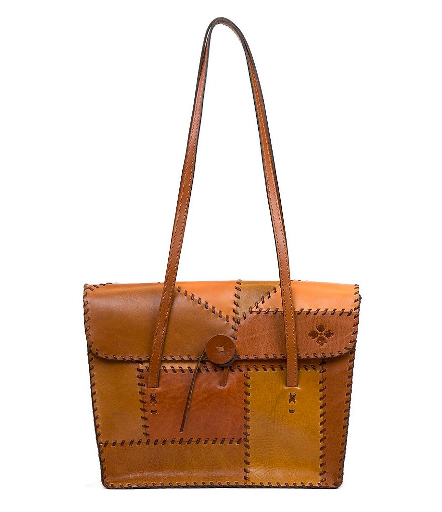 Patricia Nash Patchwork Collection Faito Italian Leather Tote