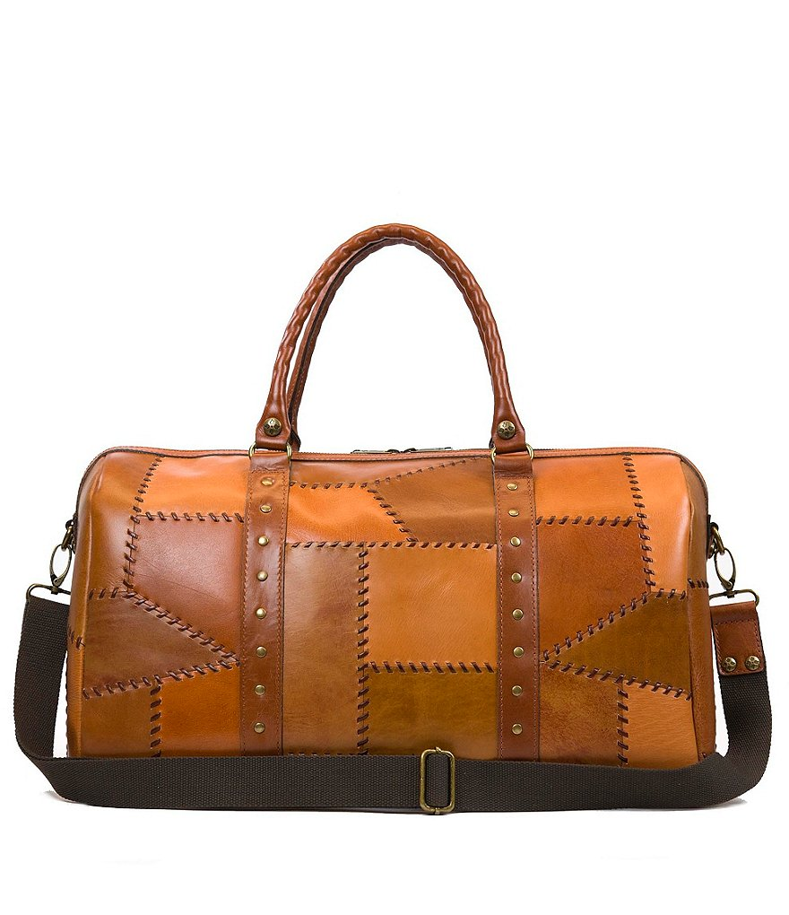 Patricia Nash Patchwork Collection Milano Studded Weekender