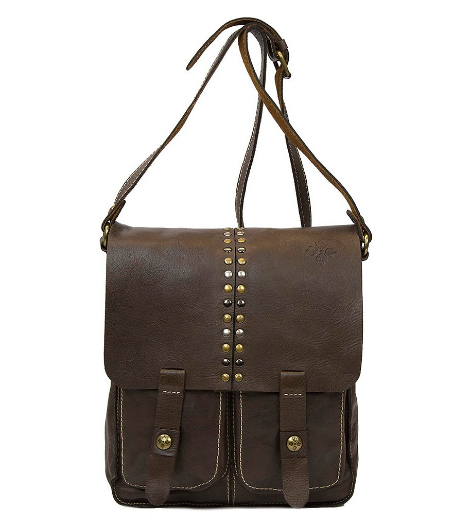 Patricia Nash Soft Veg Tan Collection Armeno Messenger Bag