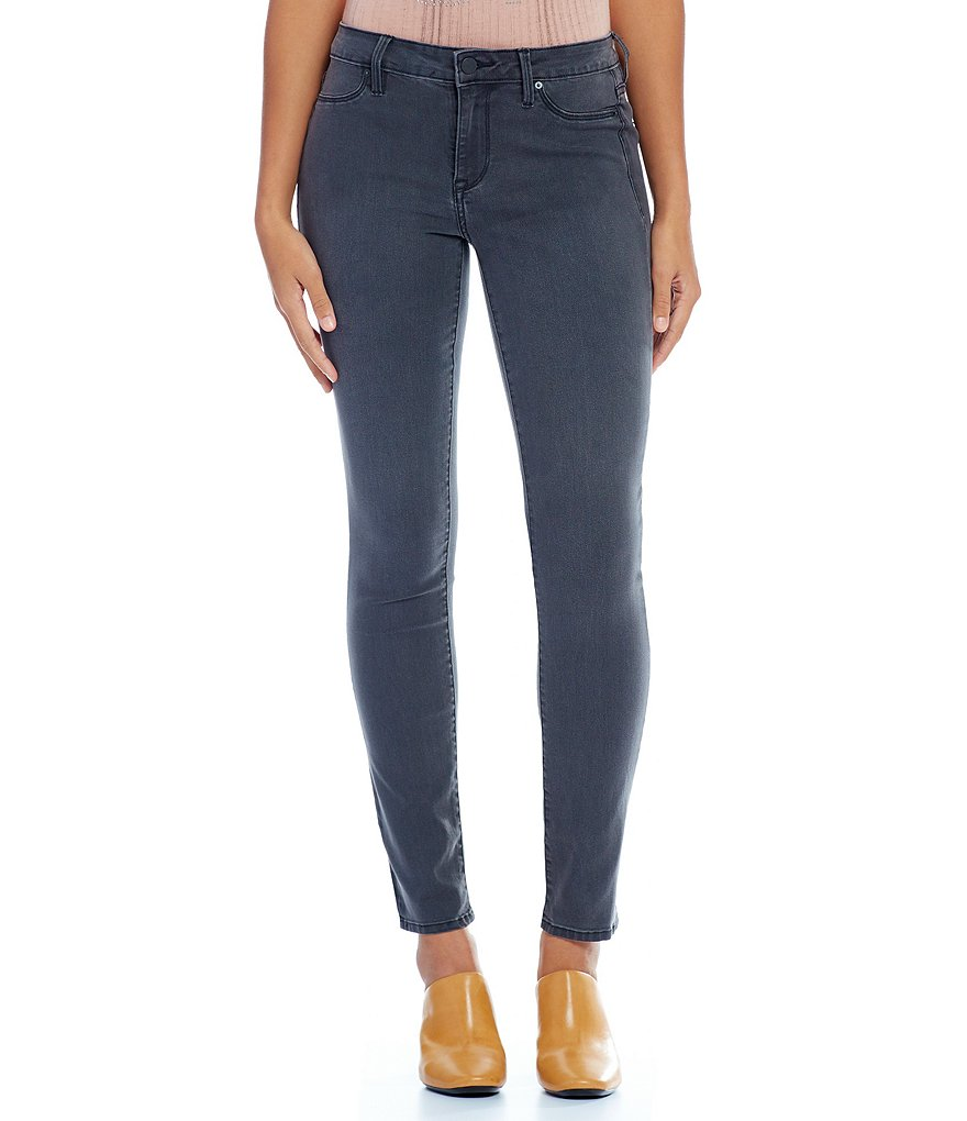 Calvin Klein Jeans Washed Down Grey Stretch Denim Leggings