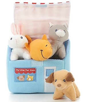 Gund My First Pet Shop Five-Piece Playset