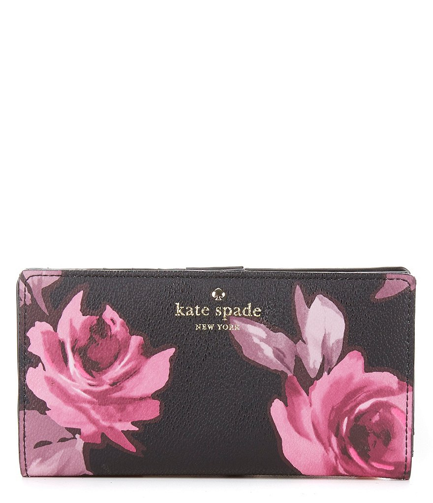 kate spade new york Hawthorne Lane Collection Stacy Roses Continental Wallet