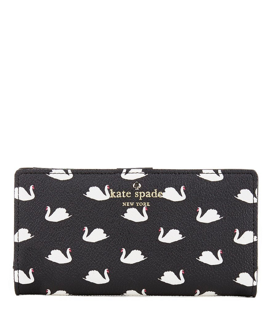kate spade new york Hawthorne Lane Collection Stacy Swans Continental Wallet