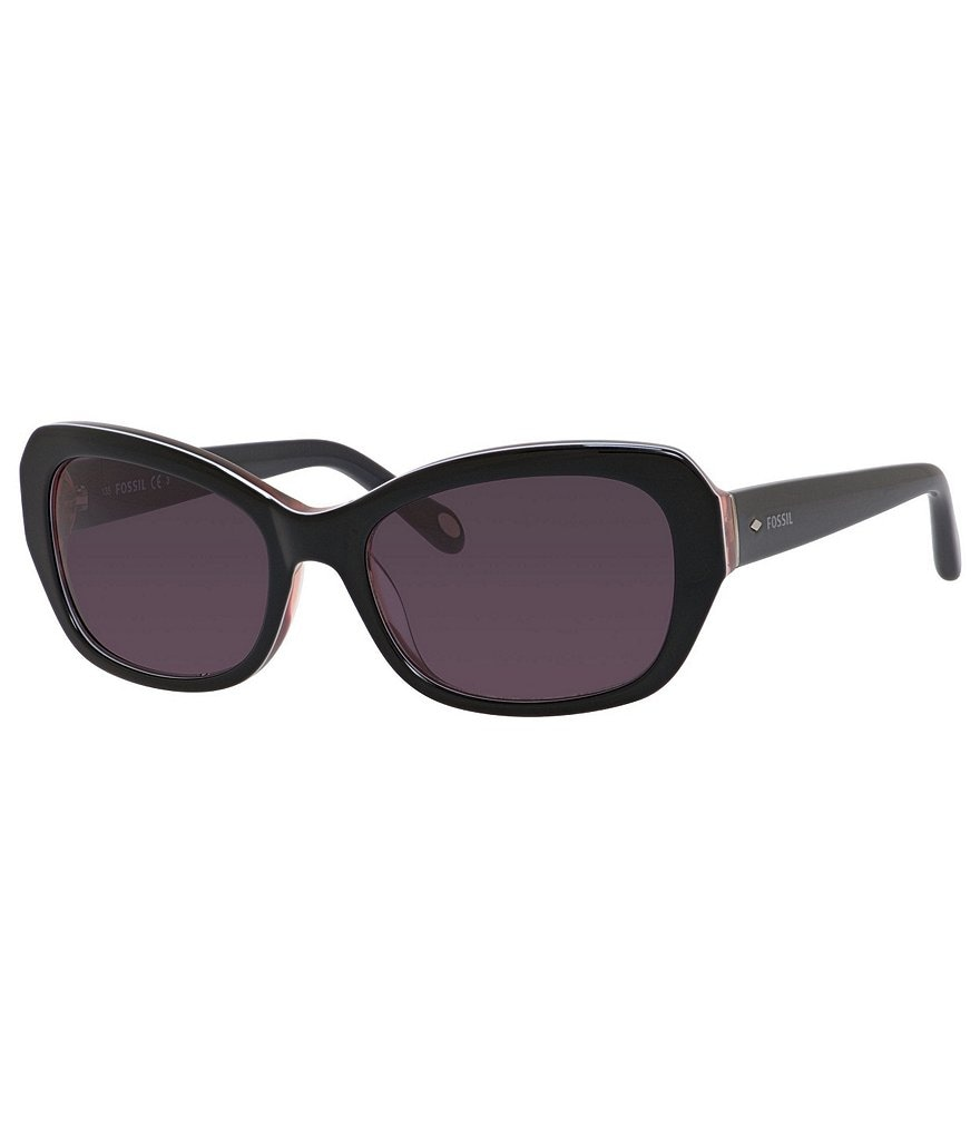 Fossil Upswept Rectangle Sunglasses