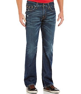 True Religion Ricky Straight-Leg Low-Rise Denim Jeans