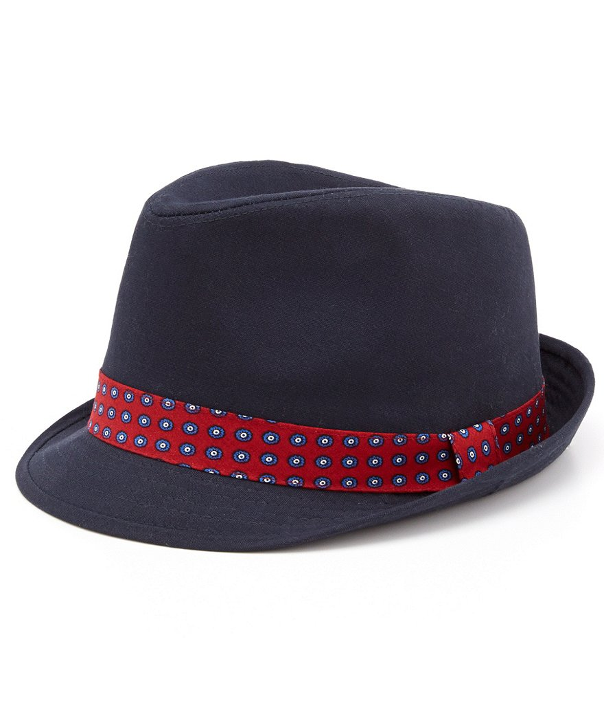 Cremieux Canvas Fedora