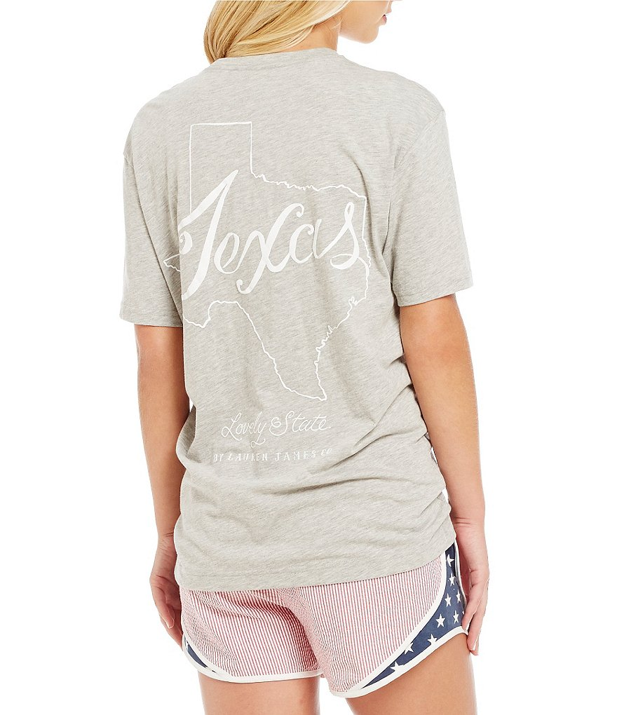Lauren James Texas Line Art Tee