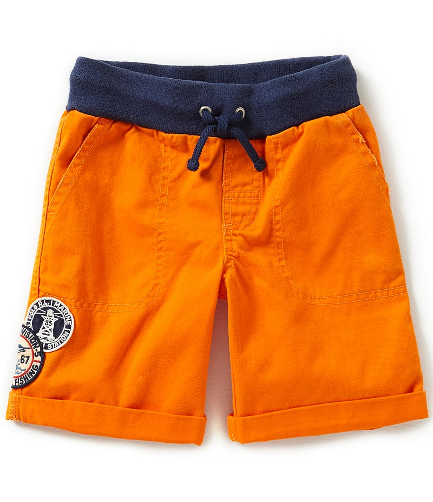Ralph Lauren Childrenswear Little Boys 2T-7 Nautical-Inspired Lightweight Chino Shorts