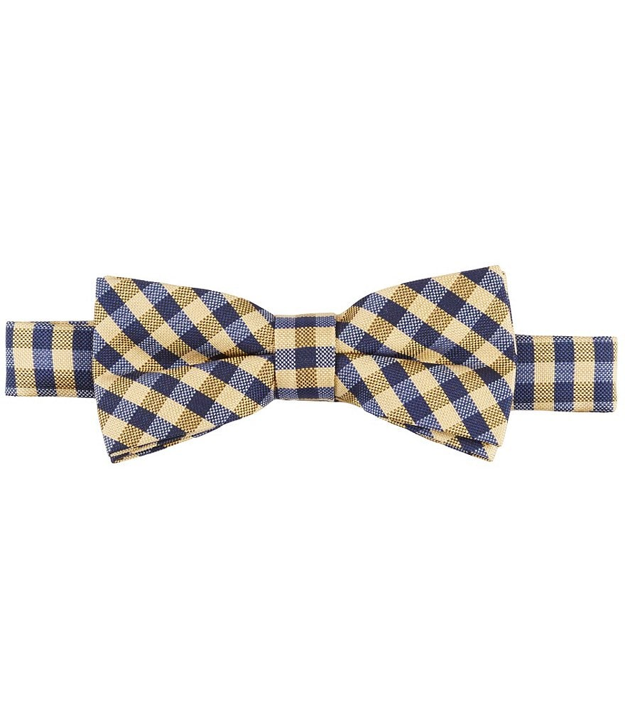 Class Club Checked Bow Tie