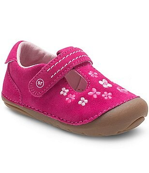 Stride Rite Girls´ Tonia T-Strap Shoes