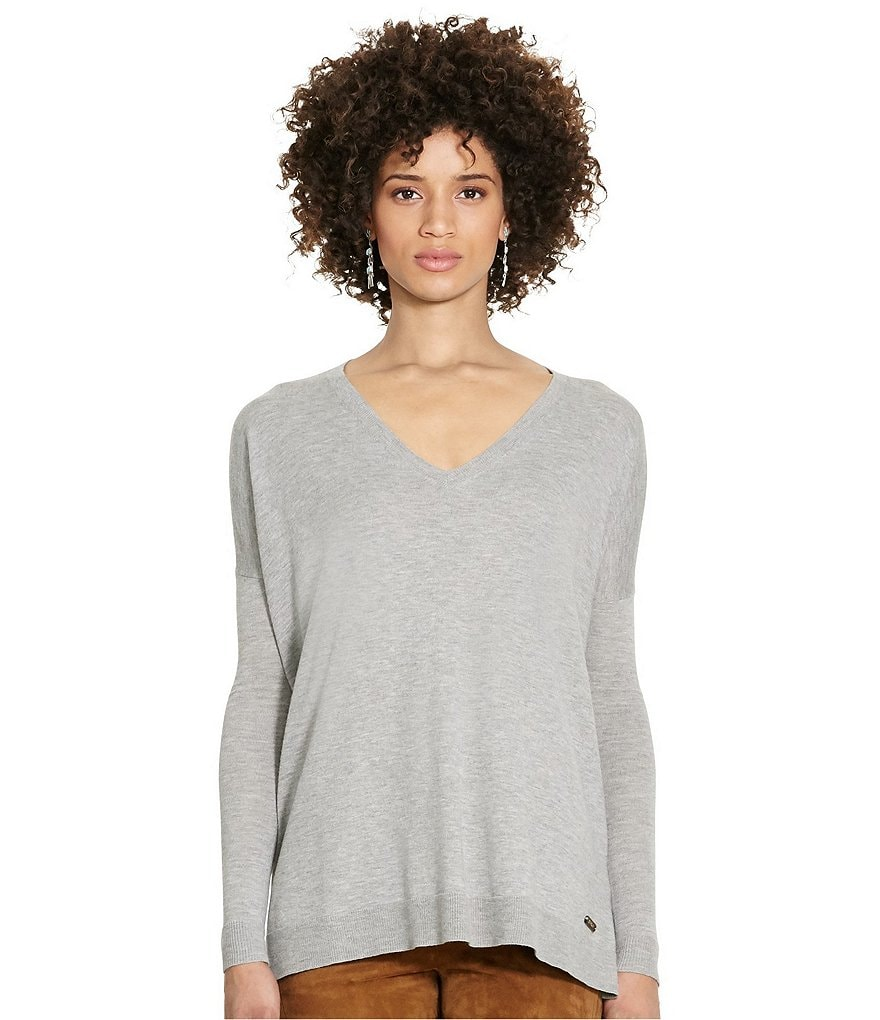 Polo Ralph Lauren Relaxed V-Neck Sweater