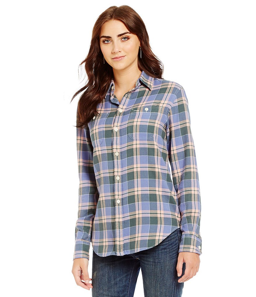 Polo Ralph Lauren Relaxed-Fit Long Sleeve Plaid Shirt