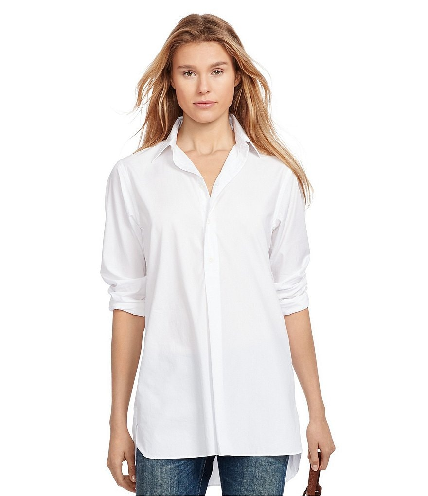 Polo Ralph Lauren Cotton Broadcloth Tunic