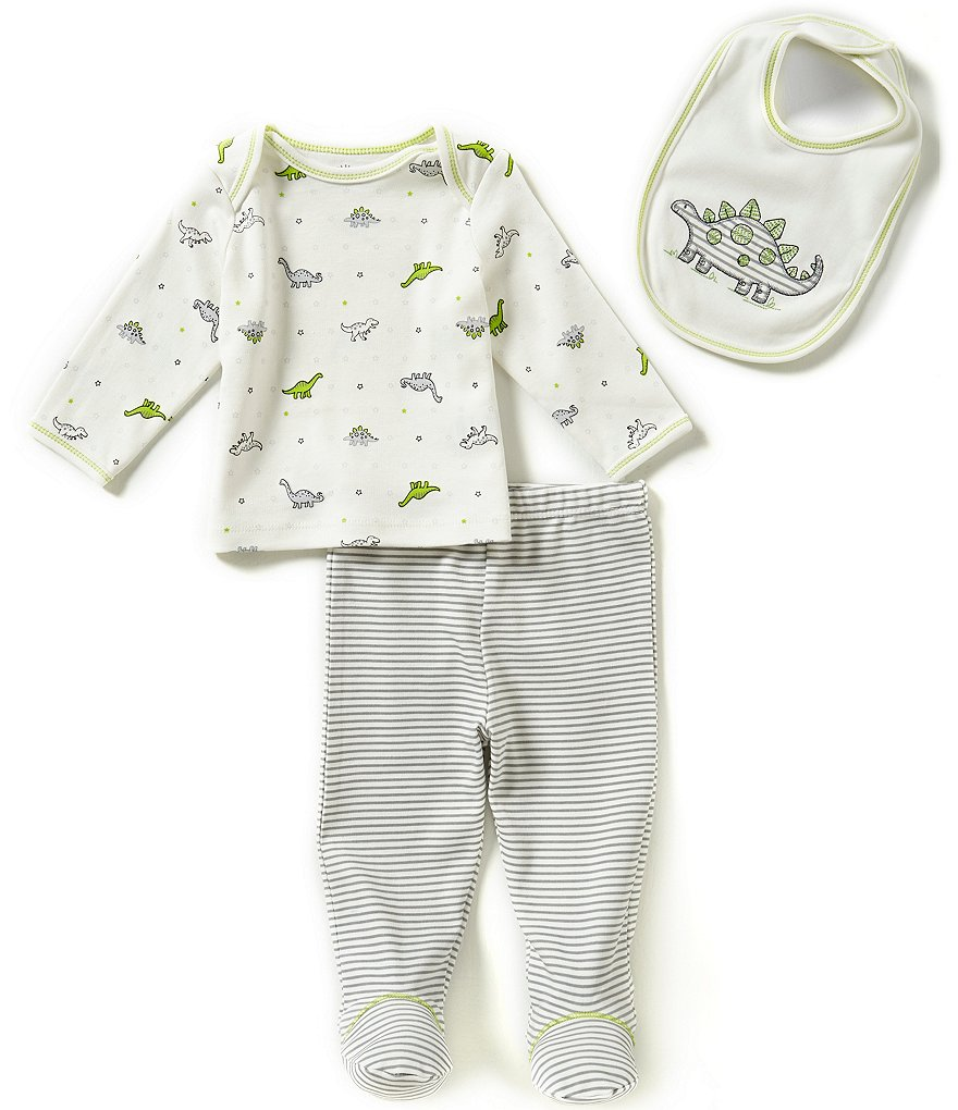 Little Me Baby Boys Newborn-9 Months 3-Piece Little Dino Set