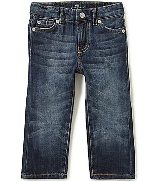 7 For All Mankind Baby Girls 12-24 Months Standard Denim Jeans