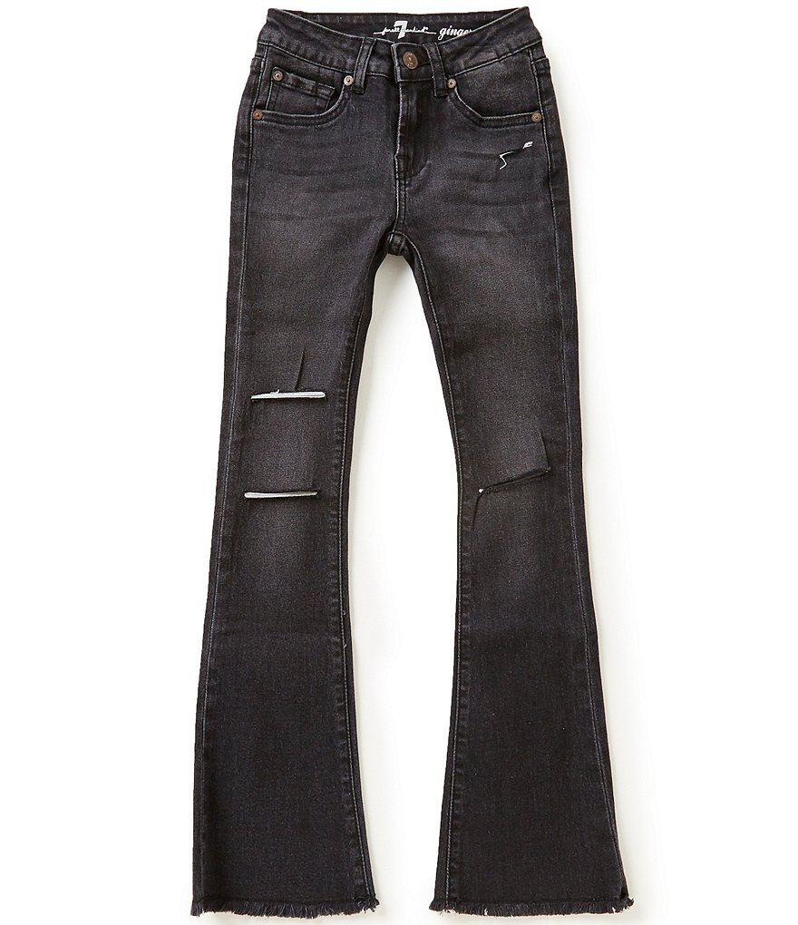7 for All Mankind Big Girls 7-14 Ginger Distressed Jeans