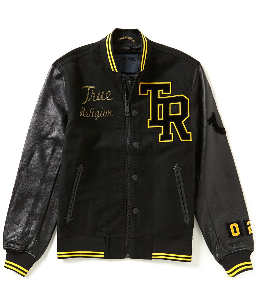 True Religion Moleskin Collegiate Jacket