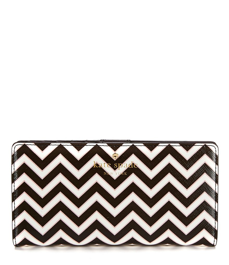kate spade new york Market Street Collection Stacy Chevron Continental Wallet