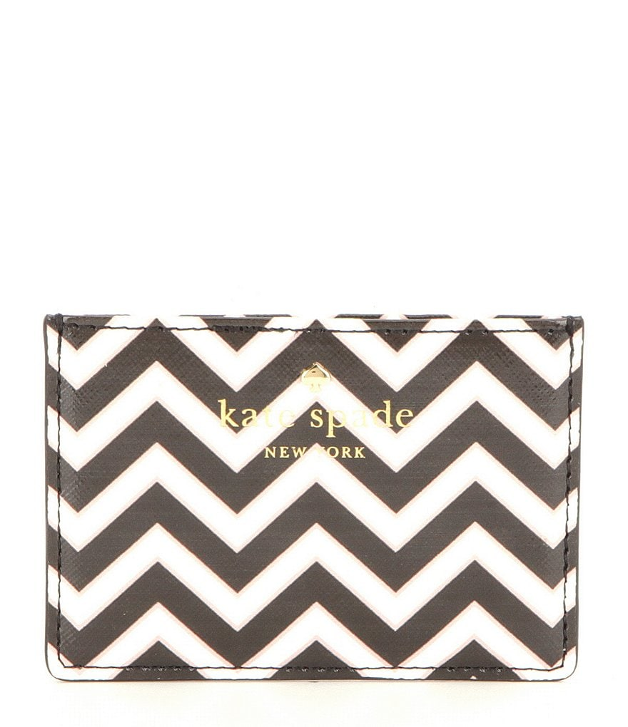 kate spade new york Market Street Collection Chevron Card Holder