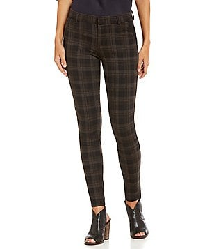 KUT from the Kloth Mia Skinny Plaid Ponte Pant