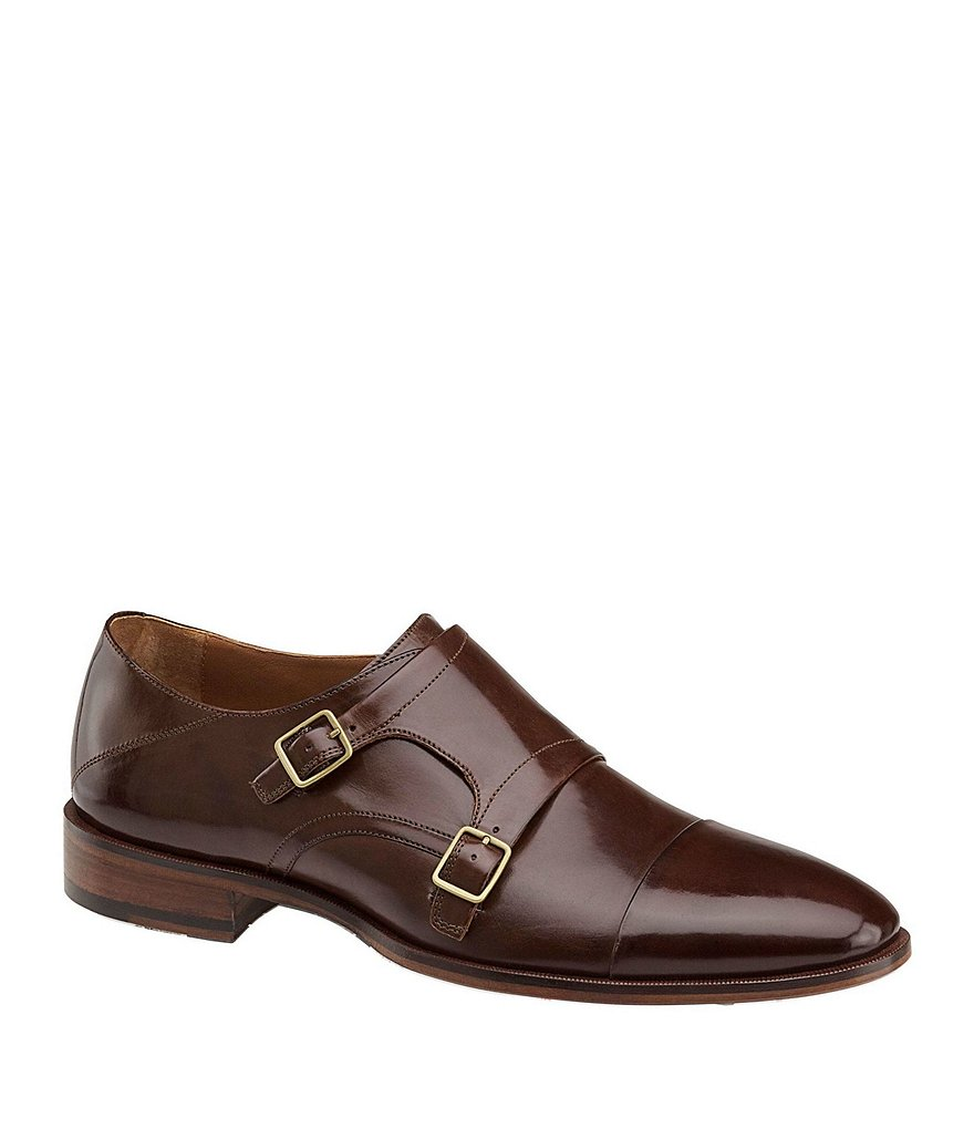 Johnston & Murphy Nolen Men´s Double Buckle Monk Strap Oxfords