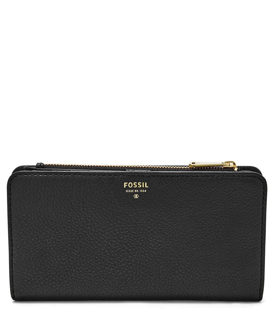 Fossil Preston Perforated Colorblocked Clutch