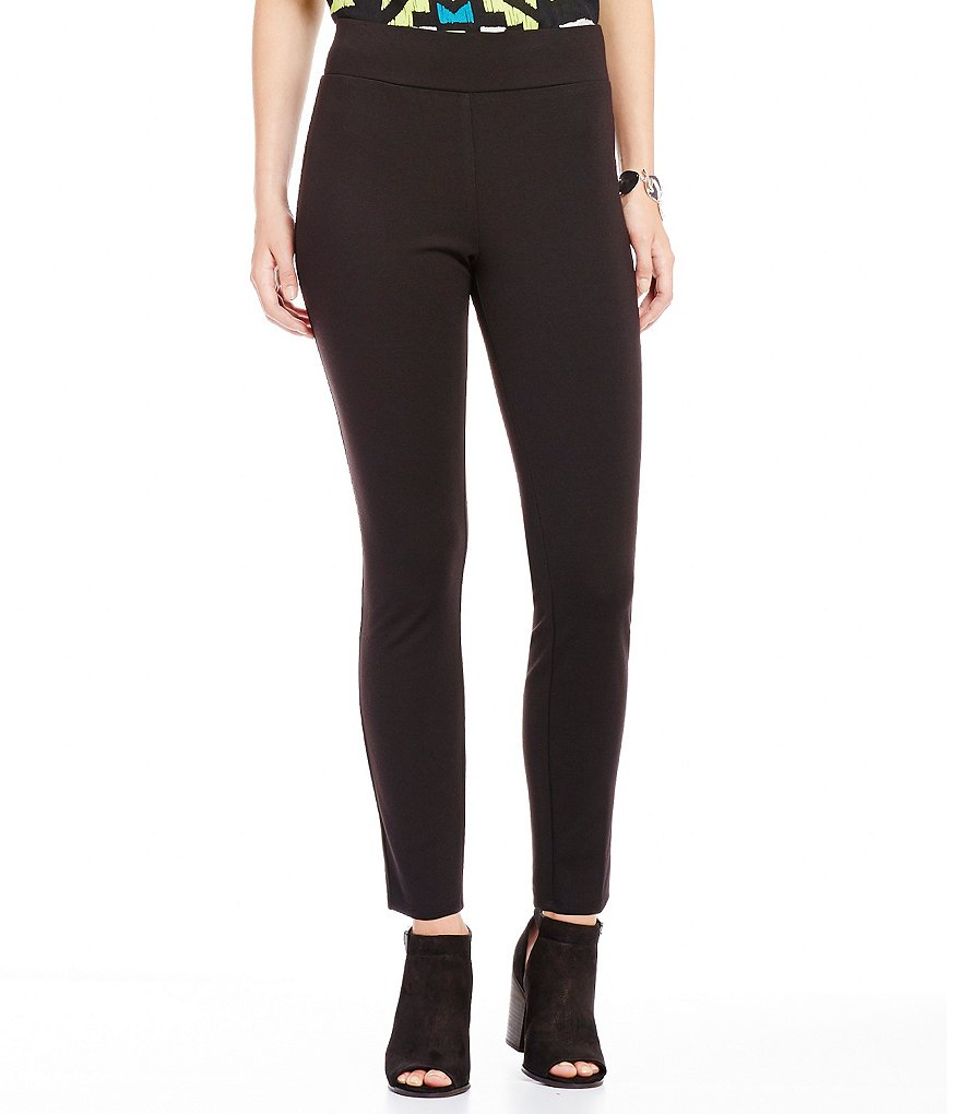 Ruby Rd. Pull-On Stretch Ponte Ankle Legging
